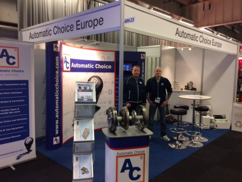 Automatic Choice booth at Automassan 2017