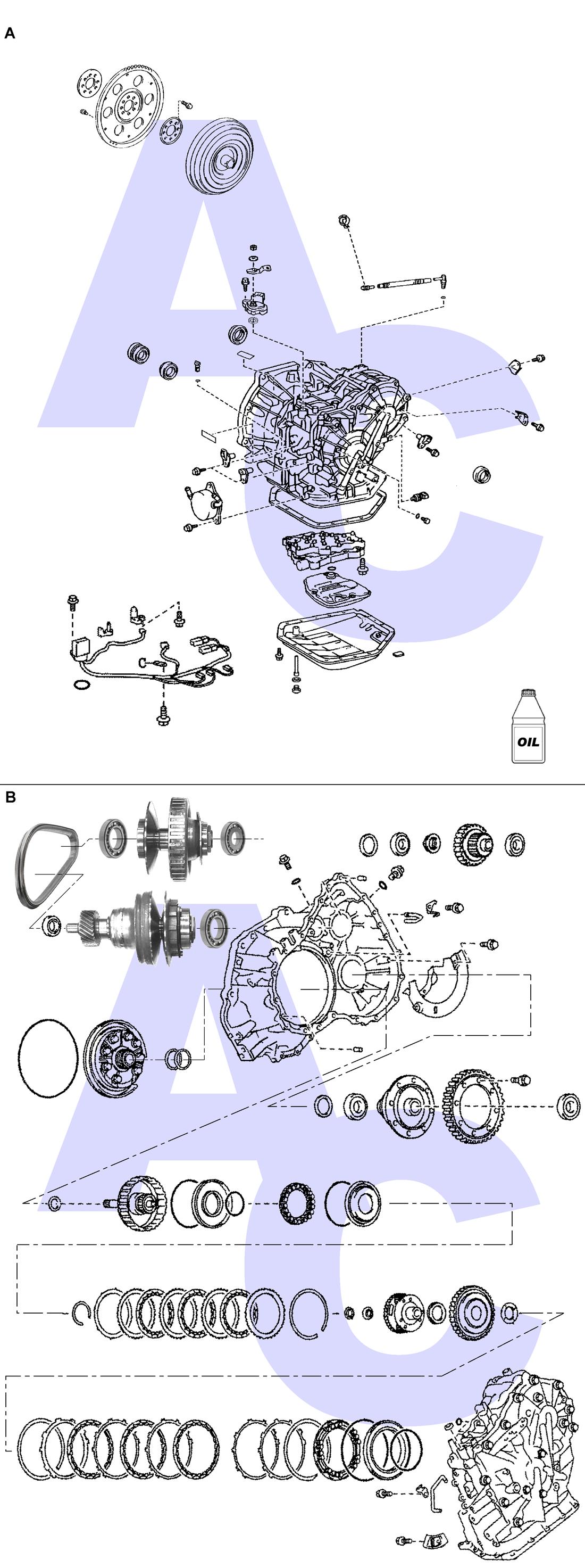 K313 Transmission Parts Catalogue - Automatic Choice