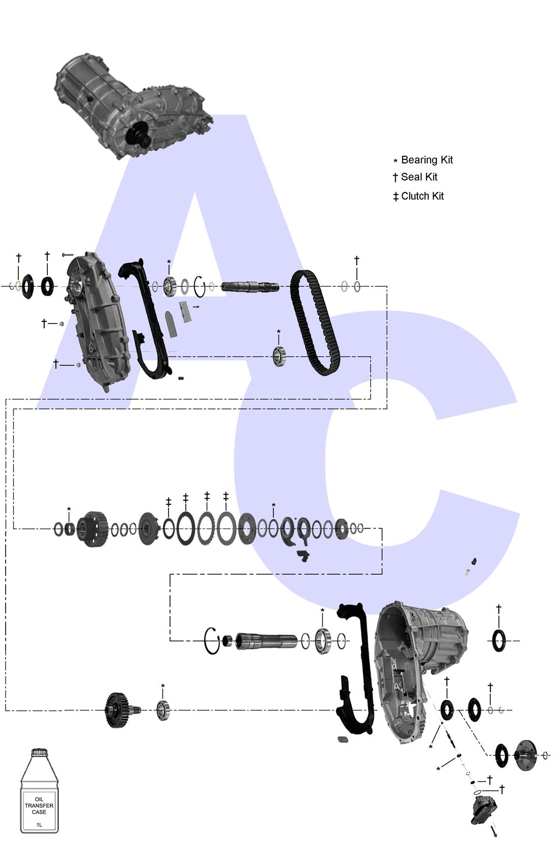 PL72 ATC Transfer Case Catalogue - Automatic Choice