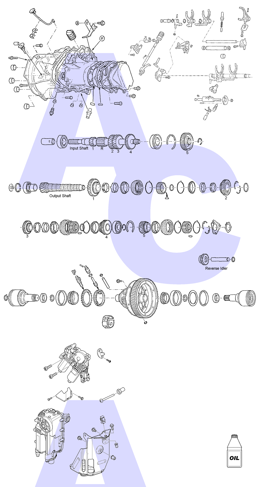 IB5 Manual Transmission Parts Catalogue