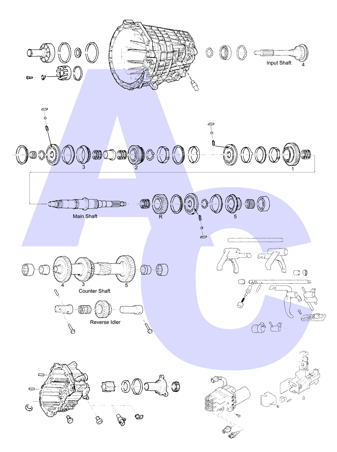 Mt75 Manual Transmission Parts Catalogue Automatic Choice Ford Standard Diagrams