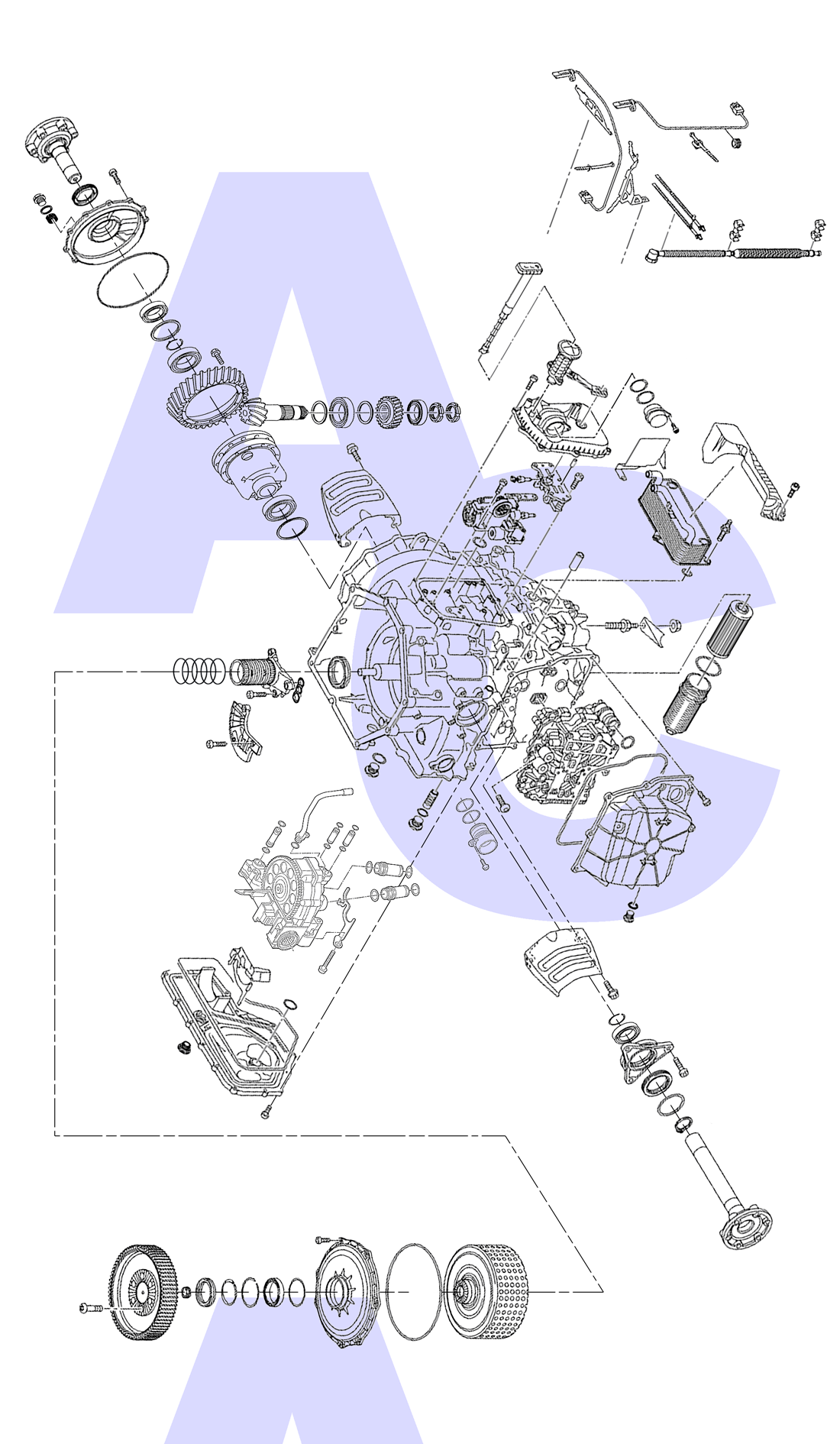 0BZ Dual Clutch Transmission Parts Catalogue - Automatic Choice